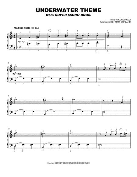 super mario bros theme for easy piano free music sheet - musicsheets.org  music sheet library for all instruments