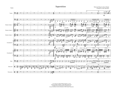 Superstition Full Score