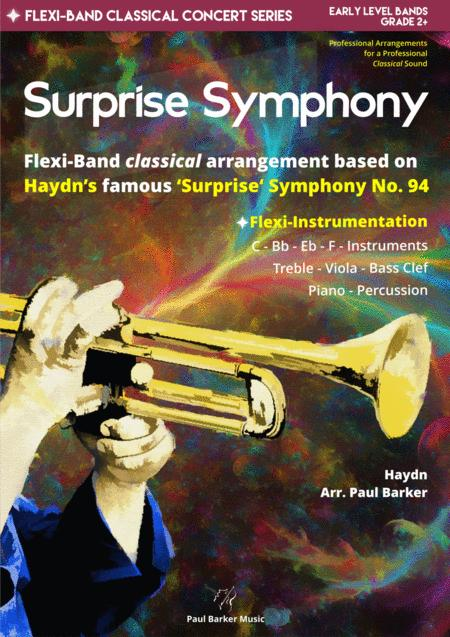 Surprise Symphony Flexi Band Score Parts
