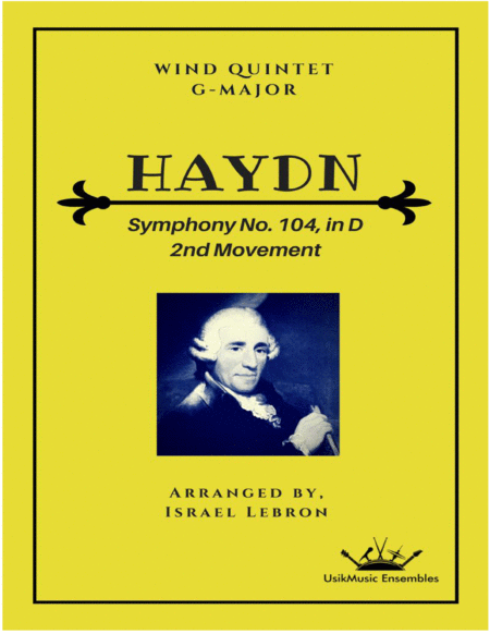 Symphony No 104 In D Major New Key Of G Major