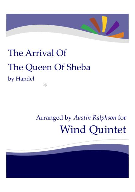The Arrival Of The Queen Of Sheba Wind Quintet