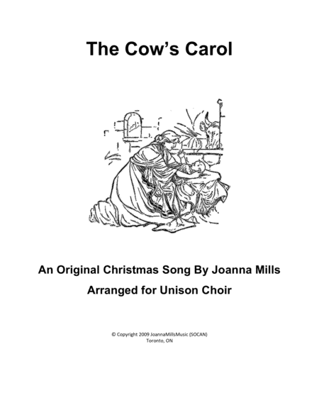 The Cows Carol Unison Choir