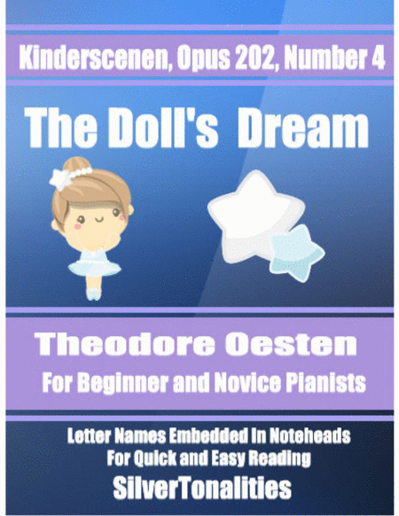 The Dolls Dream Opus 202 Number 4 Easy Piano Sheet Music