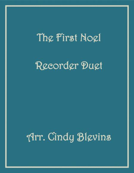 The First Noel Recorder Duet