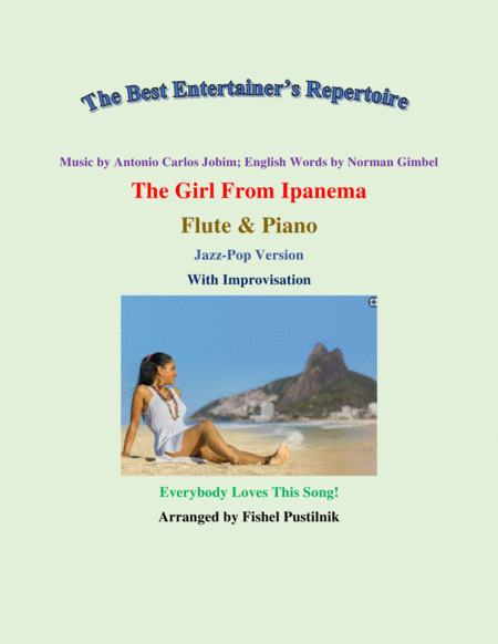 The Girl From Ipanema Garota De Ipanema For Flute And Piano With Improvisation Video