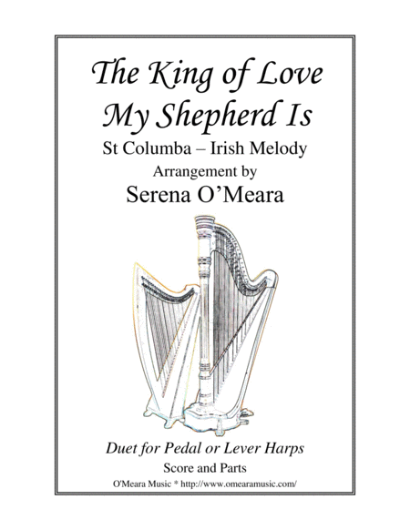 The King Of Love My Shepherd Is St Columba Score Parts