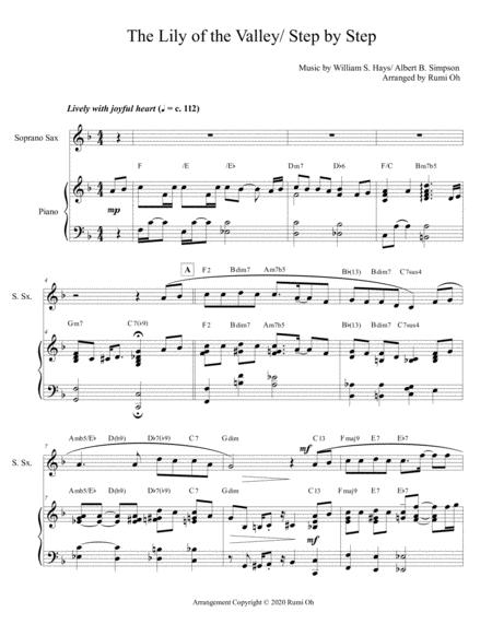 The Lily Of The Valley Step By Step Hymn Arrangement For Piano And Sop Saxophone