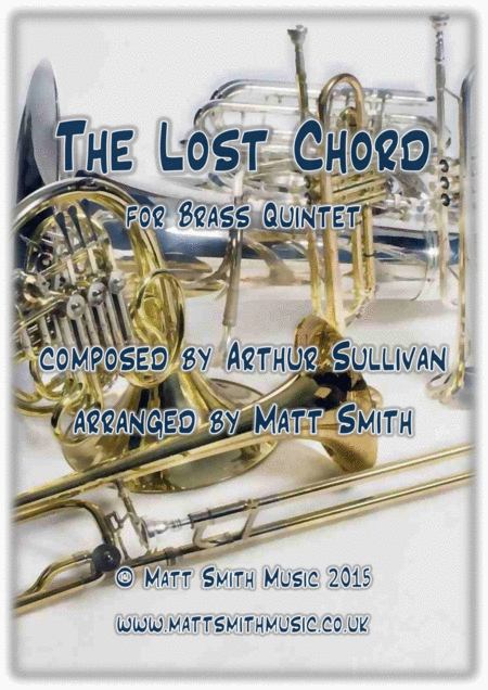 The Lost Chord By Arthur Sullivan Brass Quintet