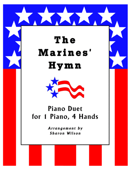 The Marines Hymn 1 Piano 4 Hands Duet