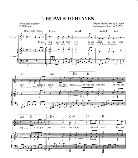 The Path To Heaven F