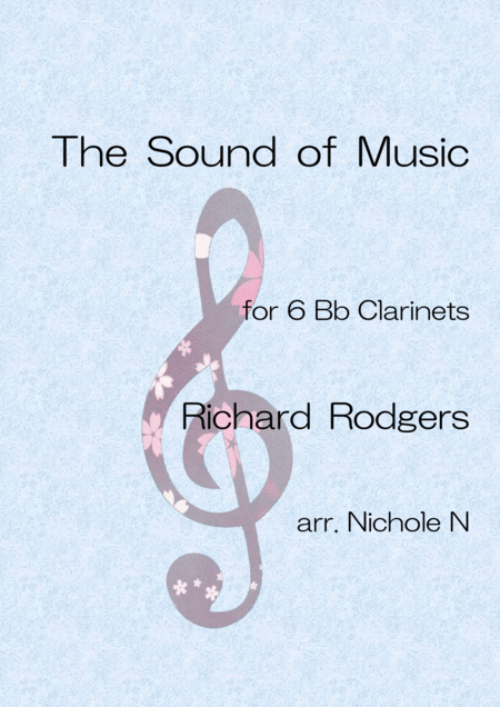 The Sound Of Music For 6 Bb Clarinets