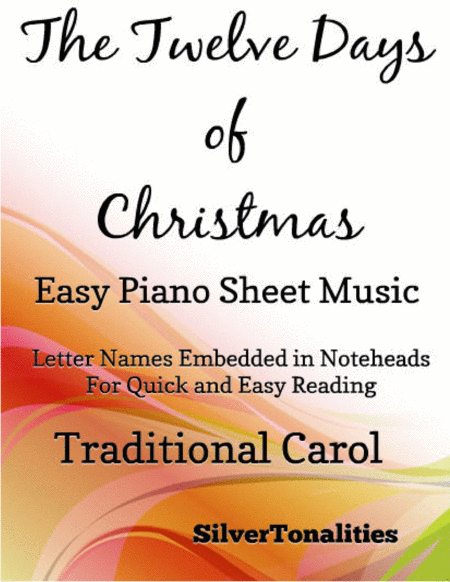 The Twelve Days Of Christmas Easy Piano Sheet Music