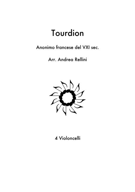 Tourdion 4 Cellos