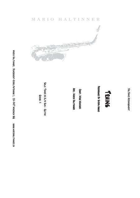Trains Steps Ahead Jazz Ensemble Score Parts