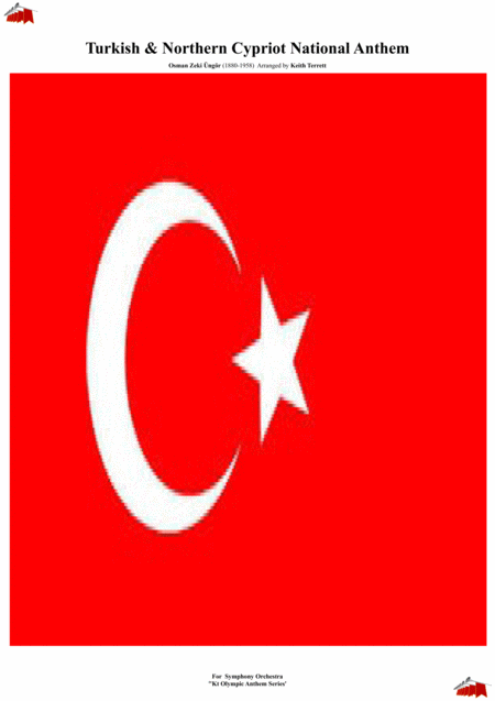 Turkish Northern Cypriot National Anthem For Symphony Orchestra Kt Olympic Anthem Series