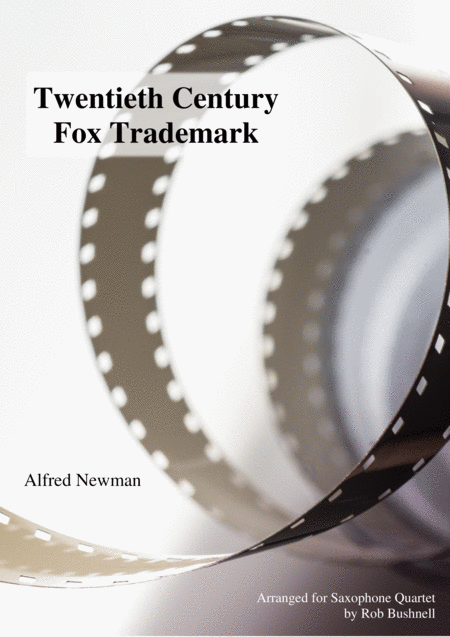 Twentieth Century Fox Trademark Newman Saxophone Quartet With Optional Percussion