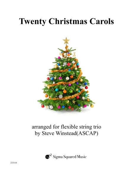 Twenty Christmas Carols For String Trio