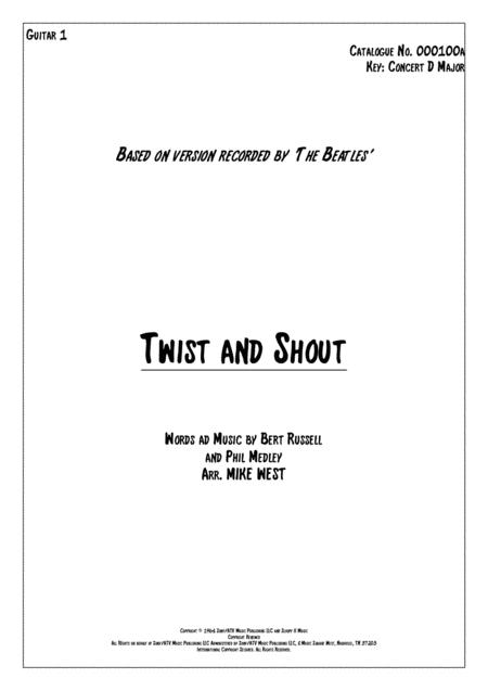Twist And Shout Guitar 1