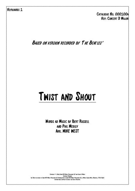 Twist And Shout Keyboards 1