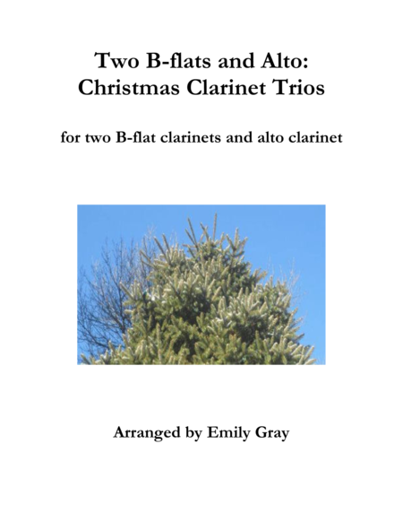 Two B Flats And Alto Christmas Clarinet Trios