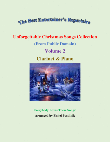 Unforgettable Christmas Songs Collection From Public Domain For Clarinet Piano Volume 2 Video