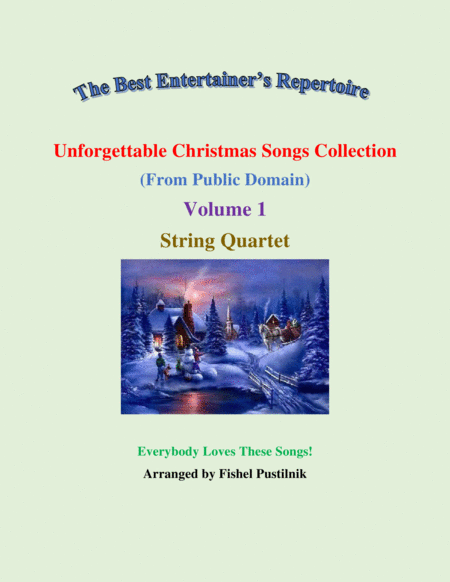 Unforgettable Christmas Songs Collection From Public Domain For String Quartet Volume 1 Video