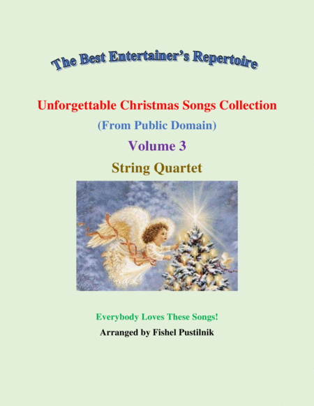 Unforgettable Christmas Songs Collection From Public Domain For String Quartet Volume 3 Video