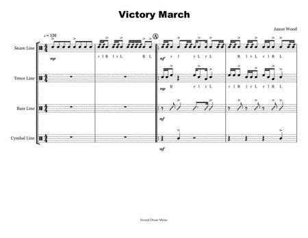 Victory March Drumline Cadence
