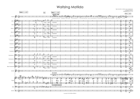 Waltzing Matilda Big Band Ft Male Vocal