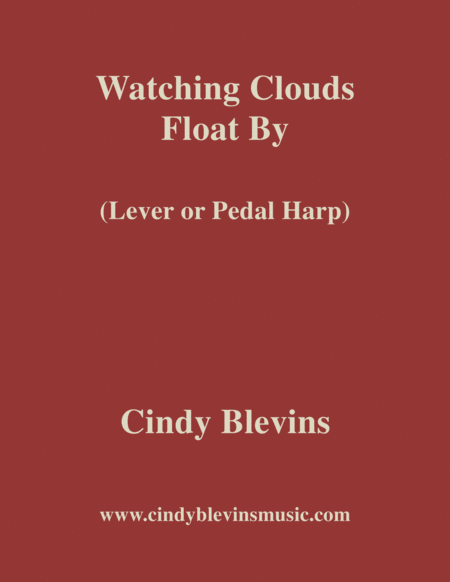 Watching Clouds Float By An Original Solo For Lever Or Pedal Harp From My Harp Book Hourglass