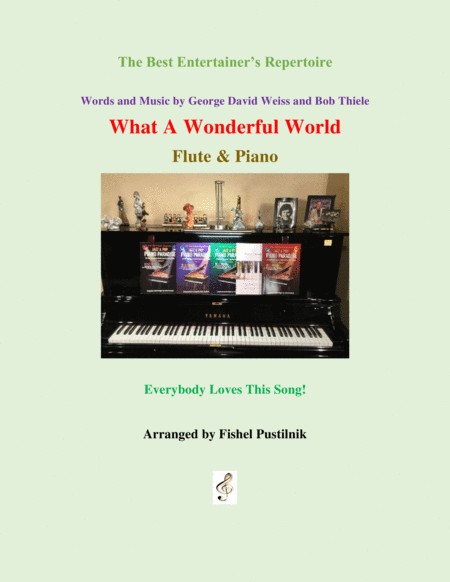 What A Wonderful World For Flute And Piano Jazz Pop Version