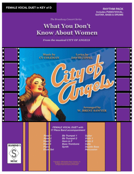 What You Dont Know About Women From City Of Angels Female Vocal Duet Rhythm Pack