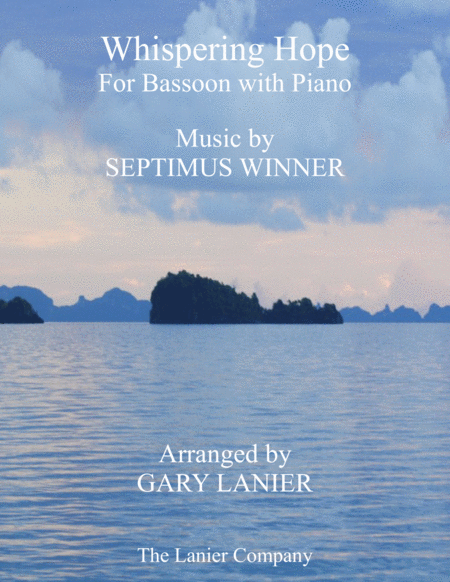 Whispering Hope Duet Bassoon Piano With Score Part
