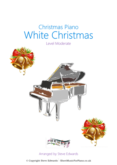 White Christmas Piano Solo Moderate