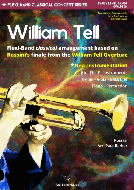 William Tell Overture Flexi Band Score Parts