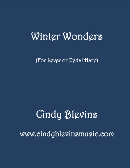 Winter Wonders An Original Piece For Lever Or Pedal Harp From My Book Winter Wonders