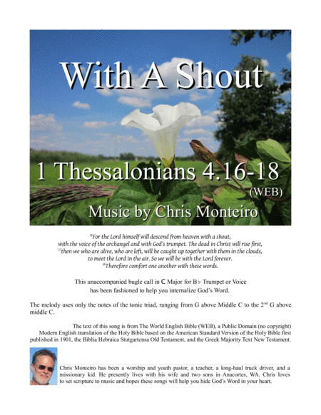 With A Shout 1 Thessalonians 4 16 18 Web