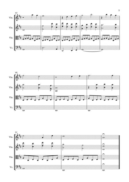 you are my sunshine string quartet from the movie annabelle free music sheet  - musicsheets.org  music sheet library for all instruments