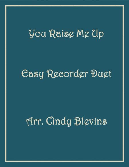You Raise Me Up Easy Recorder Duet